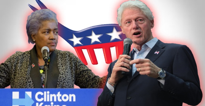 Donna Brazile has a new role for Bill Clinton and it's probably not a good time for it