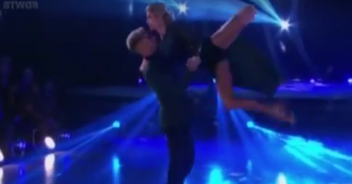Despite two injuries, one DWTS pair put all concerns to rest with an amazing tango