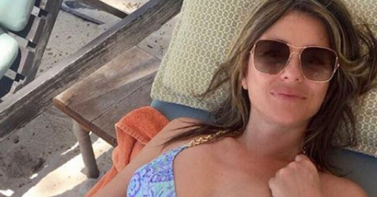 Bombshell actress Elizabeth Hurley is still smoking hot in a bikini at age 52