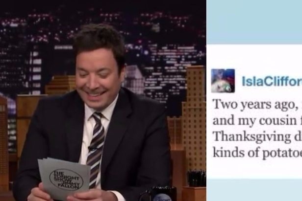 Jimmy Fallon Shares Hilarious and Gross Thanksgiving Fails
