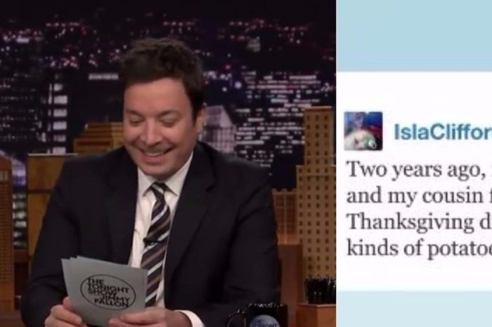 Jimmy Fallon Shares Hilarious and Gross Thanksgiving Fails