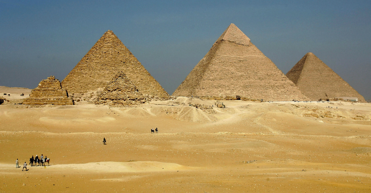 Check out the first major discovery in the Great Pyramids in almost 200 years