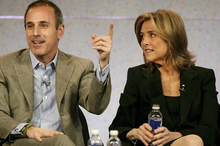 Meredith Vieira once went snooping in Matt Lauer's office and found something very NSFW