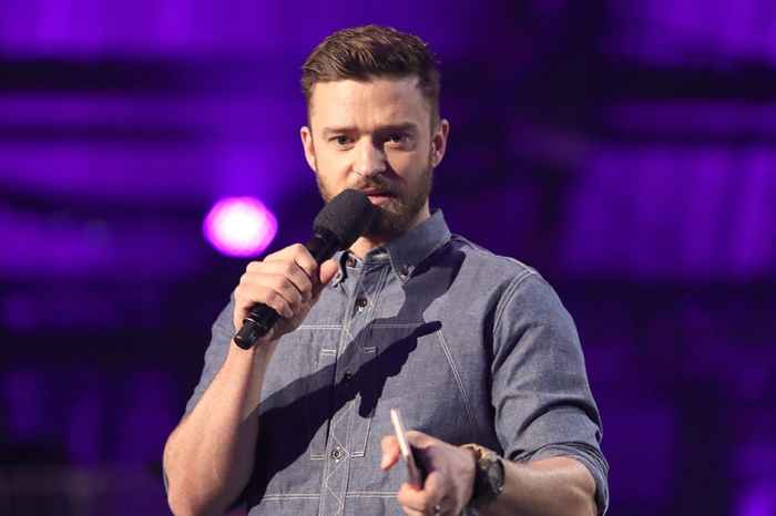 Justin Timberlake is getting ready for the Super Bowl, and his take on the national anthem was everything