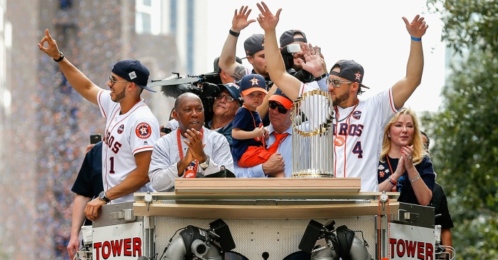 Astros avoid arbitration, sign World Series MVP George Springer to 2-year, $24 million deal