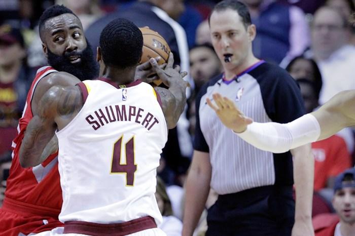 James Harden talks the talk, and walks the walk: Rockets beat Cavs