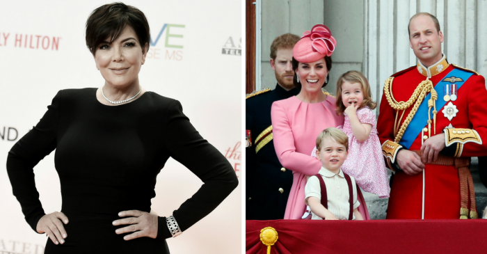 If Kris Jenner had her way, her annual Christmas party would be quite the royal affair
