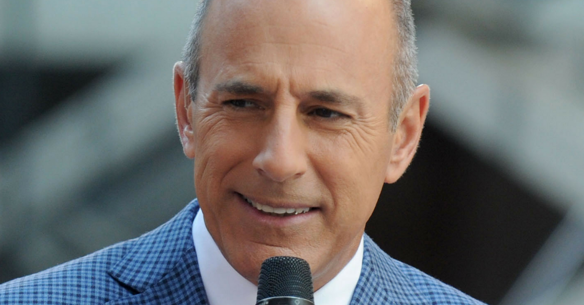 "Matt Lauer may be out at ""TODAY,"" but he's reportedly still trying to keep a hand in how it's run"