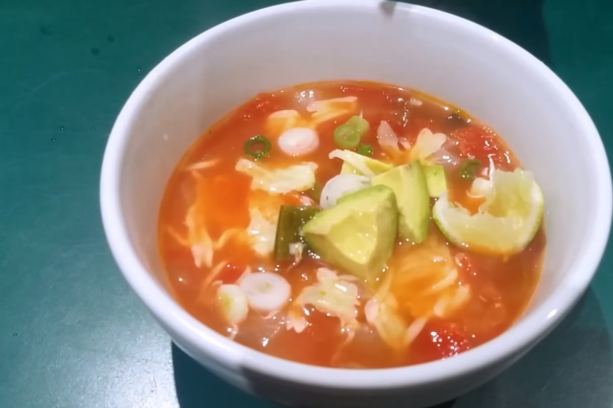 Transform your favorite chicken noodle soup recipe into this delicious Mexican classic