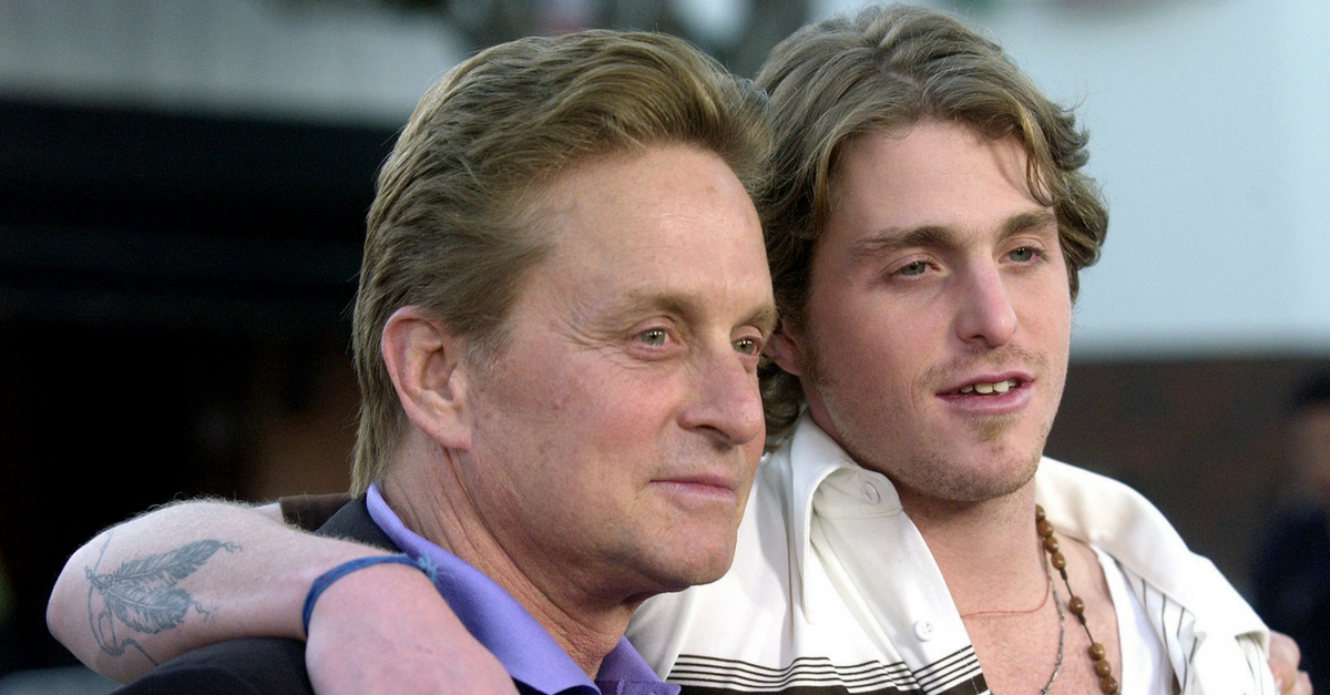 Michael Douglas reveals exactly when he'll become a grandfather for the very first time