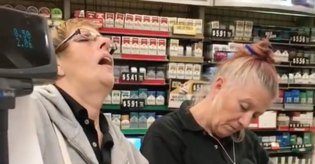 Disturbing Video of Cashiers Nodding Off at Work Has People on the Internet Pointing to the Opioid Crisis