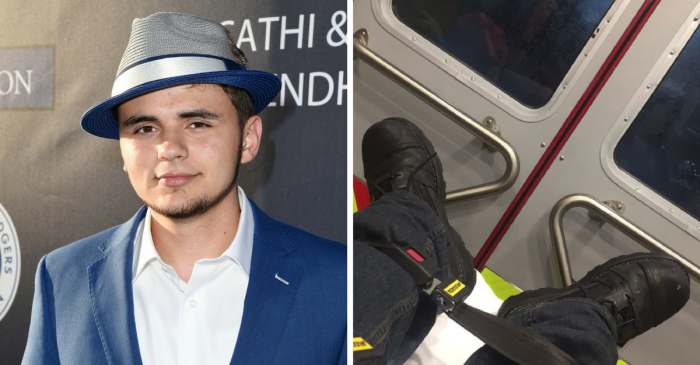 Prince Jackson rushed to the hospital with injuries after a scary motorcycle crash