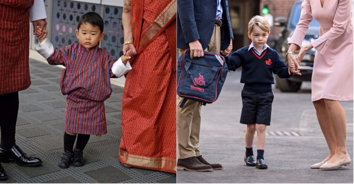 This sweet prince might dethrone Prince George as cutest royal kid