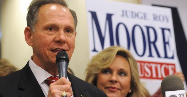 Roy Moore may be on his own in the Alabama Senate race as Republicans (and their money) run for the hills