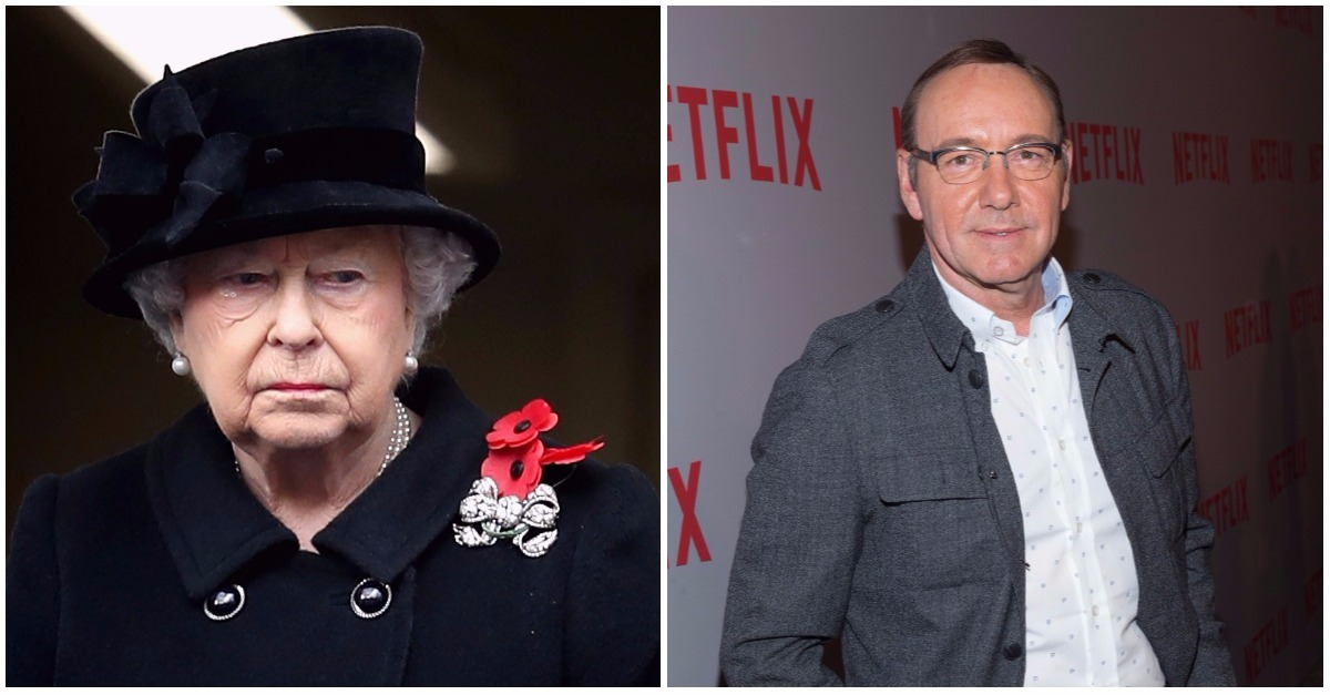 Before the scandal, Kevin Spacey reportedly caused royal outrage by disrespecting Queen Elizabeth II