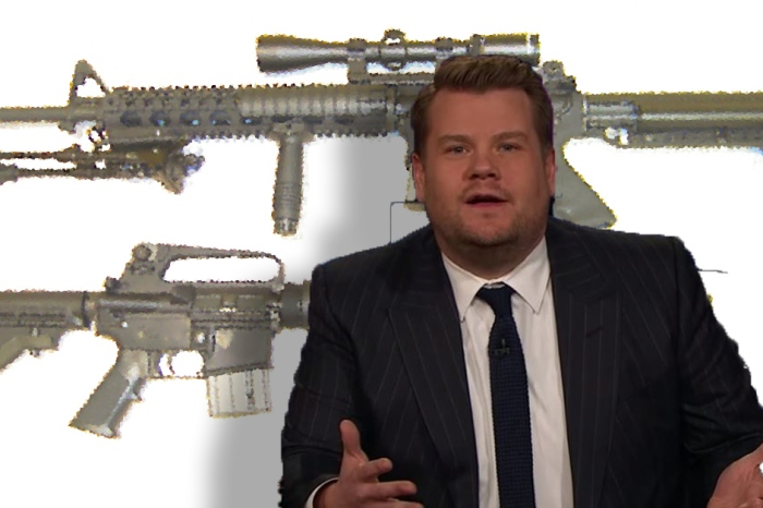 Here's what James Corden had to say about the Sutherland Springs shooting