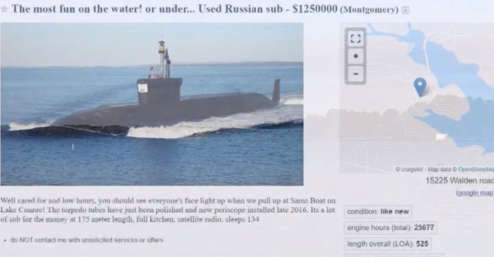 A local man recently tried to sell a Russian submarine in Lake Conroe, but is it just Houston's Nessie?