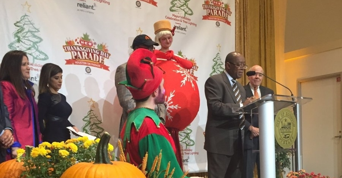 Houston's 68th annual HEB Thanksgiving Parade is bringing a famous face back to the Bayou City