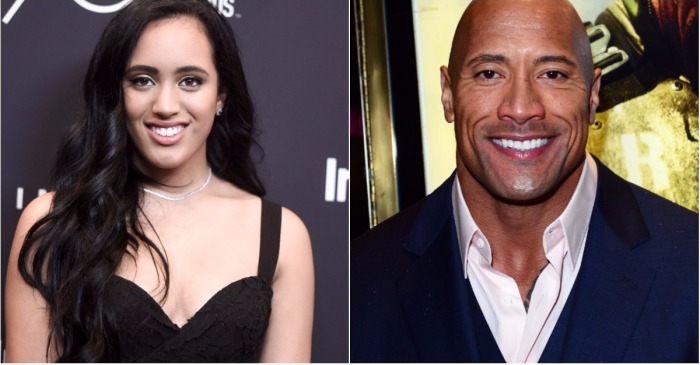 "Dwayne ""The Rock"" Johnson gushes over his daughter after she landed a huge job"