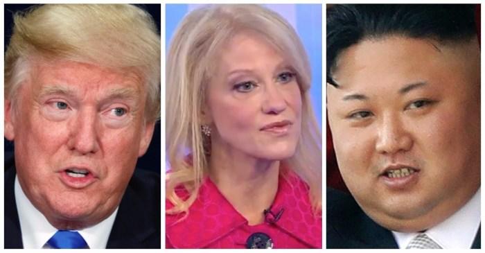"Kellyanne Conway had the last word on Donald Trump's ""short and fat"" Kim Jong-un tweet"