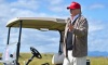 Republican Presidential Candidate Donald Trump Visits His Scottish Golf Course
