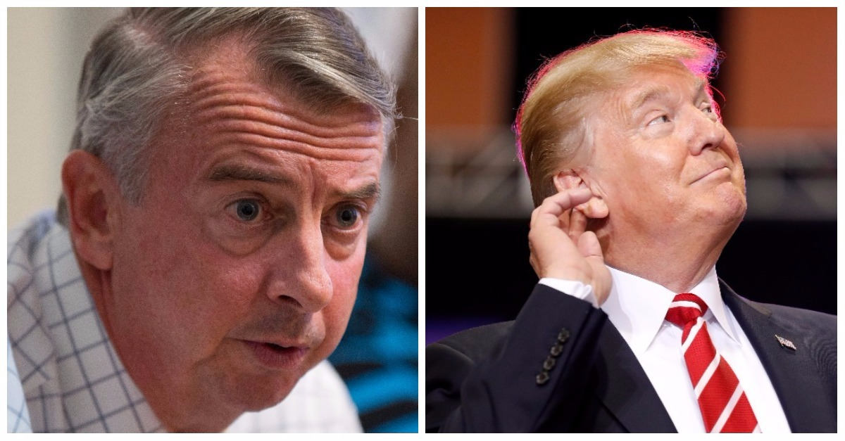 Trump instantly threw defeated Ed Gillespie under the bus — this photo made it even worse