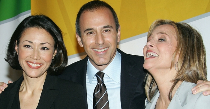 Contrary to popular belief, Ann Curry didn't actually celebrate the news that Matt Lauer was fired