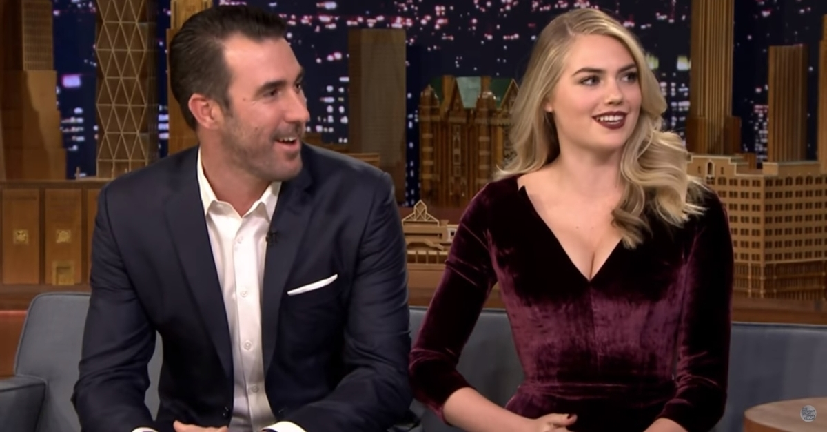 Justin Verlander and Kate Upton Talk About the World Series and Their Fairy Tale Wedding
