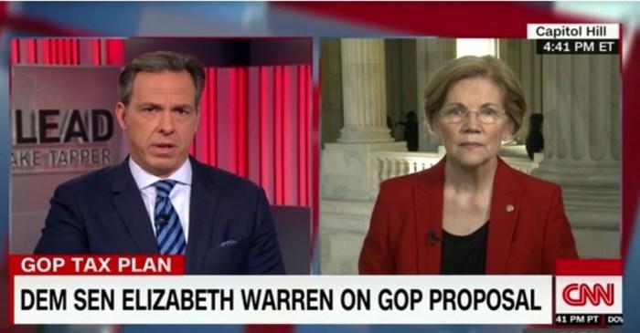 Elizabeth Warren believes Donna Brazile's bombshell claim that DNC nomination process was rigged