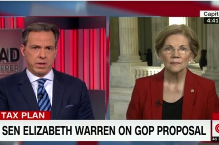 Elizabeth Warren believes Donna Brazile's bombshell claim that DNC nomination process was rigged