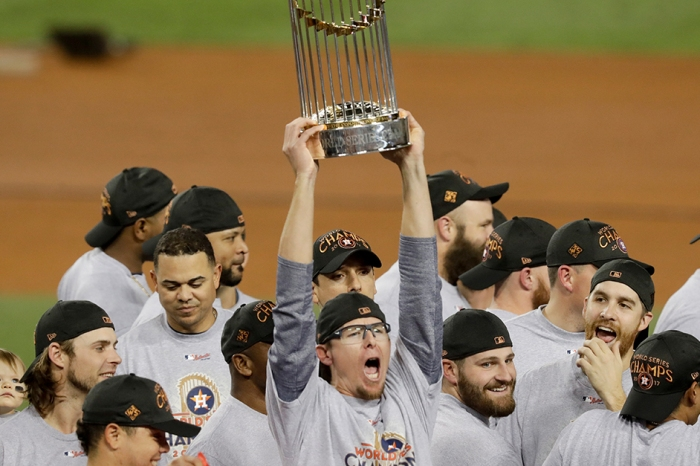 It took 55 years to bring a World Series trophy to Houston, and only one night to break it