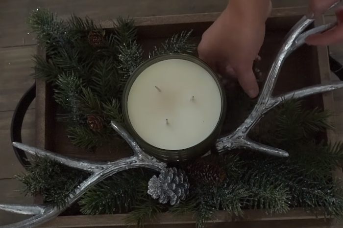 She shares the secret to saving over $500 on gorgeous holiday decor