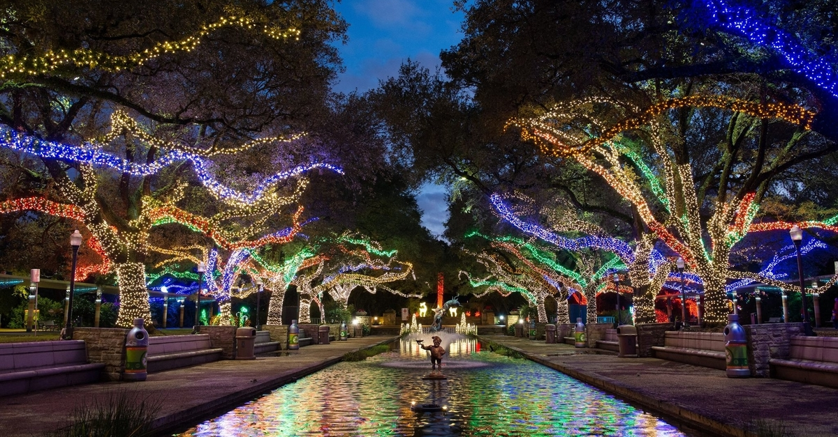 Houston favorite Zoo Lights is reopening on November 18 for holiday family fun