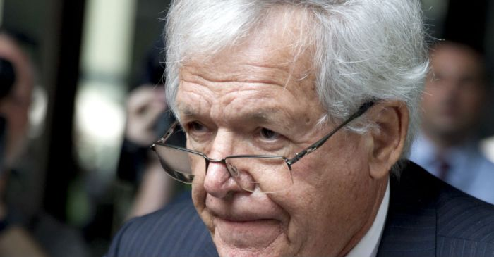 A judge is keeping ex-House Speaker Dennis Hastert as far away from kids as possible