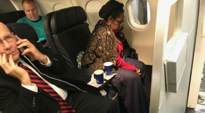 Sheila Jackson Lee takes someone's seat