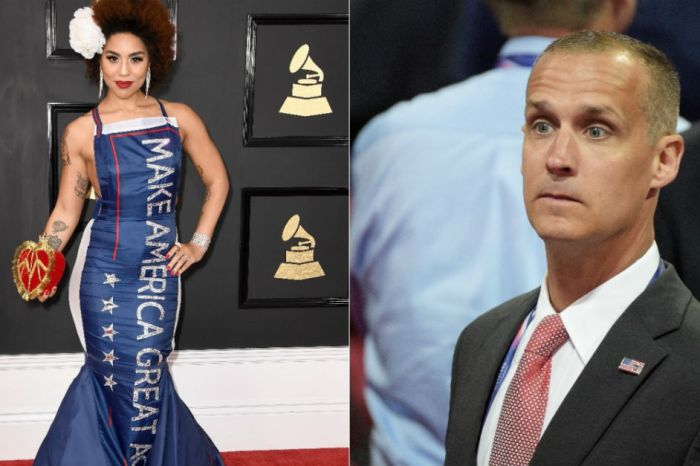 Singer known for a Trump dress is making serious allegations against a former campaign manager
