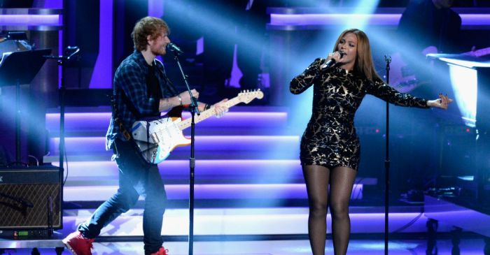 Ed Sheeran broke some bad news for anyone looking to chat with Beyoncé ever