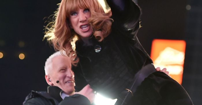 We're just going to guess Kathy Griffin won't be watching CNN's New Year's Eve special