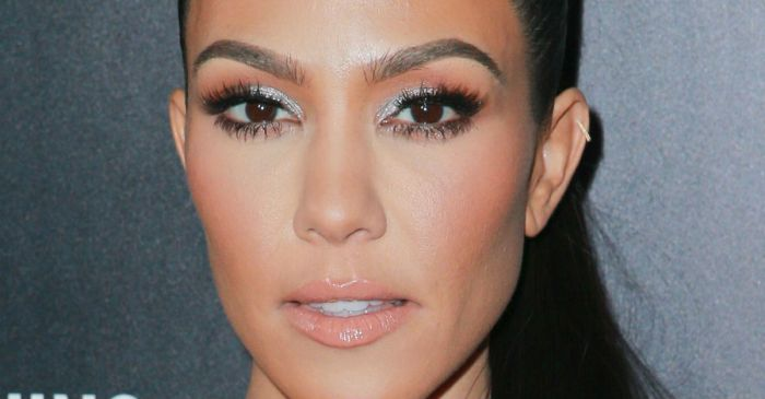 Kourtney Kardashian jokes about this missing family member in her Christmas photo