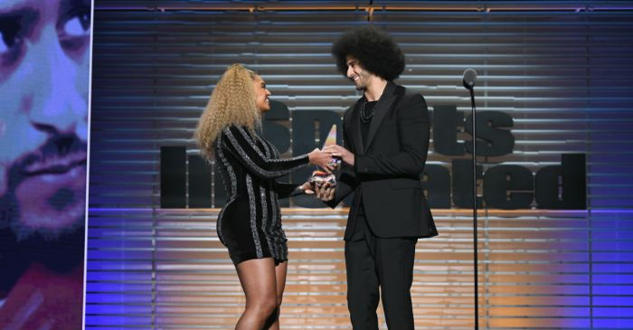 "Beyoncé gave Colin Kaepernick a ""legacy"" award last night, and Tomi Lahren wasn't having it"