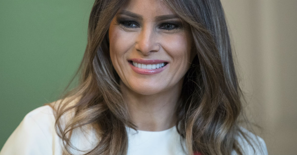 First Lady Melania Trump shares her Christmas wish in honor of her trip to Texas