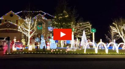 Texas Family Home's Christmas Light Show Features Popular Selena Quintanilla Hit