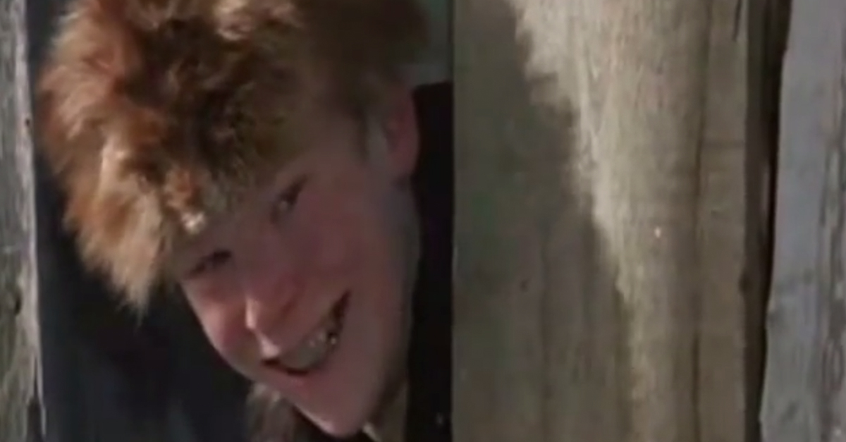 """The bully dweeb from the classic """"A Christmas Story"""" sure doesn't look like this anymore"""