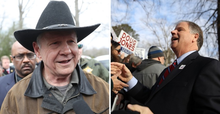 There's been a stunning upset in the Alabama special election