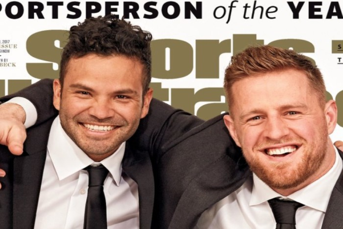 Sports Illustrated awards two players 'Sportsperson of the Year' and they're both from Houston