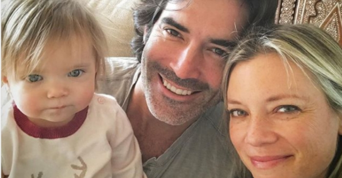 Amy Smart is standing by her man after the HGTV star was accused of sexual misconduct