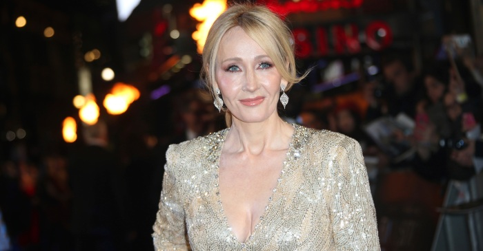 J.K. Rowling admits where she first wrote the Hogwart's houses—and fans had questions