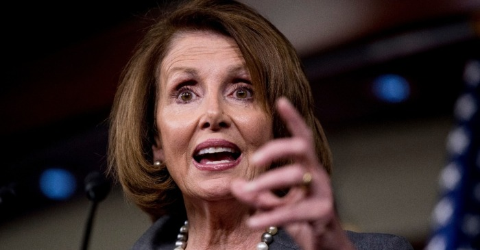 Former House Speaker Pelosi visits Houston, discusses Dreamers, Florida school shooting