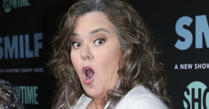 Rosie O'Donnell almost certainly just broke the law with this bizarrely stupid tweet