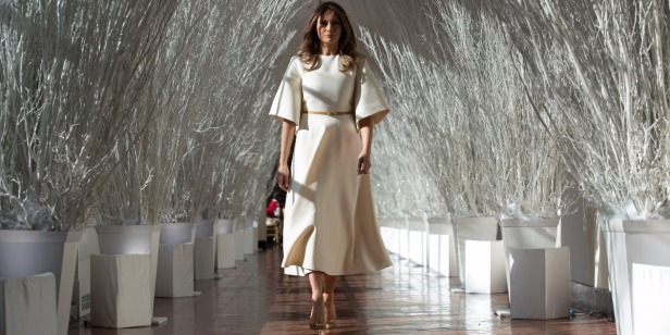 "First lady Melania Trump's spokesperson criticizes ""fake news"" for ""salacious"" reports"